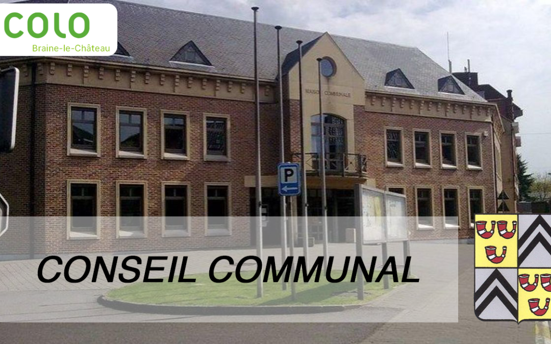 Conseil communal – 6 Mars 2019