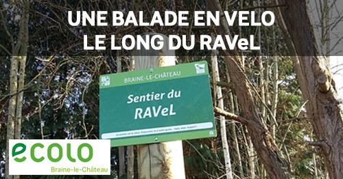 Balade en vélo le long du Ravel